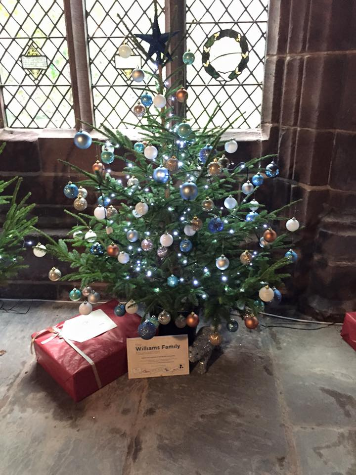 Chester Cathedral Christmas Tree Festival