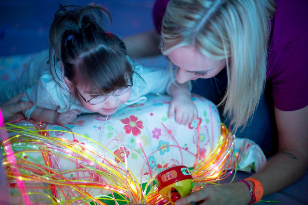 New multi-sensory room for Claire House